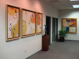 modern art framing. Custom Picture Frames In Waiting Room · Lobby With Framed Pictures. Modern Art Framing