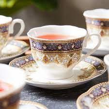 Shop Biba 12-Piece Espresso Cup and Saucer Set Online | Home centre Oman
