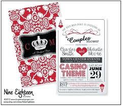 Game Night Invitation Template Casino Birthday Invitation Templates Free Night Viva Party