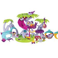 Amazoncom Zoobles Razoou0027s Treehouse Play Set Toys U0026 GamesZoobles Treehouse Playset