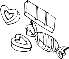 Printable Candy Coloring Pages Coloringmecom