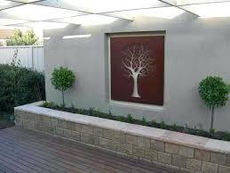 patio patio wall decor ideas l i h outside brick images interior room outdoor concrete decorating