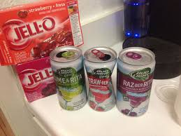 Is There Tequila In Bud Light Strawberita Mix A Rita Jell O Shots The Blonde Side