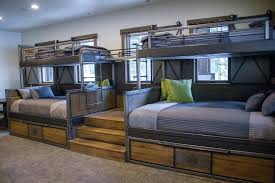 queen loft bed ideas bunk beds twin over queen with trundle studio decor pertaining to bed