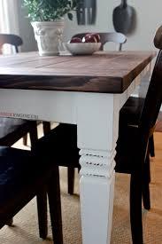 diy farmhouse dining table plans