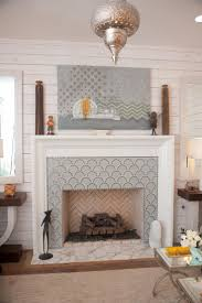 funky tile fireplace google search