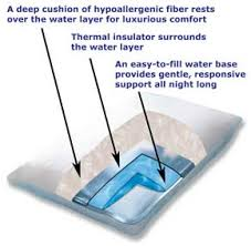 A Water Pillow Recommended by Chiropractors