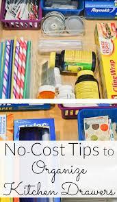 Organizing Drawers Mesmerizing NoCost Organizing Kitchen Drawer Tips Ask Anna