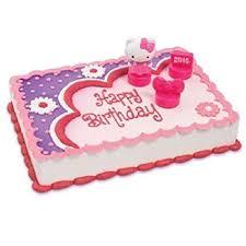 Amazoncom Hello Kitty Cake Decoration Topper Birthday Party