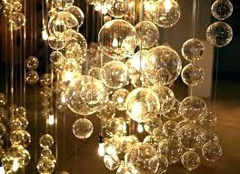 glass ball chandelier s anthropologie round rectangular floating