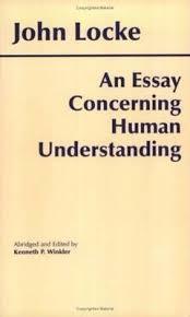 An Essay Concerning Human Understanding John Locke 9780872202160