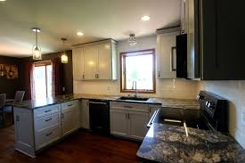 gray shaker style kitchen remodel