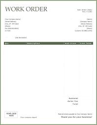 Computer Repair Work Order Template Service Orders Getpicks Co
