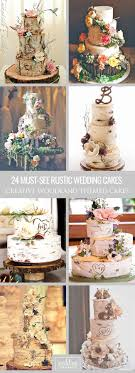 30 Must See Rustic Woodland Themed Wedding Cakes Themed Wedding