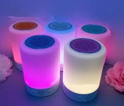 Touch Sensor Led Light Bluetooth Speaker Led Table Lamp With Mini