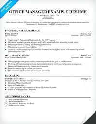 office manager resume example resume samples office manager resume example  medical office manager resume cover letter