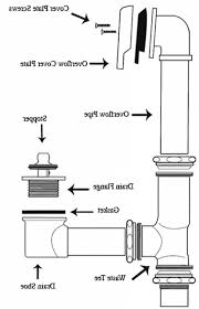 bathtub drain assembly how to install a bathtub drain