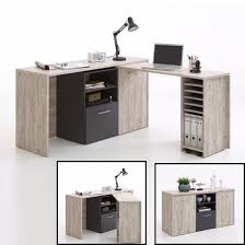 dalton corner computer desk sand oak. Delighful Dalton Weimar Rotating Corner Computer Desk Cum Sideboard In Oak And Anthracite  With Cabinet Will Satisfy All Your Necessary Requirement Finish Sand  Dalton