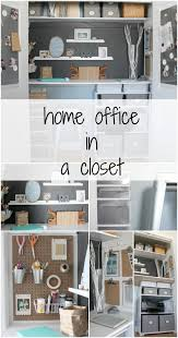 closet office space. transform a closet into home office the crazy craft lady featured on remodelaholic space d