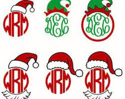 Heart svg & valentine svg. Santa Monogram Svg Cricut Monogram Christmas Monogram Monogram Frame