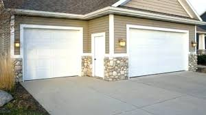 8 ft garage door installed 2 foot wide by tall