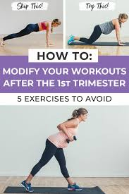 5 exercises to avoid during pregnancy