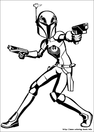 Small Picture Wars Rebels coloring picture
