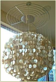 capiz shell chandelier diy shell chandelier large shell chandelier home design ideas intended for incredible house