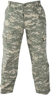 Army Combat Uniform Acu Trousers Size Chart 0 00 Burns
