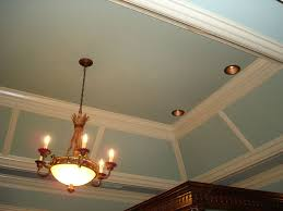 tray lighting. Without The Vertical Pieces Of Moulding - And Note Canned Lighting Tray