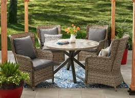 victoria 5 pc dining set for patios