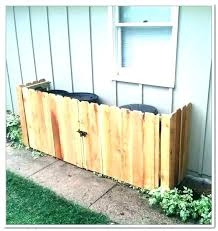 trash can fence outdoor garbage can storage bin garbage can storage shed full image for wood garbage can storage outdoor garbage can daft punk trash fence