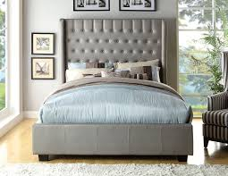 teal bedroom furniture. Amazon.com: Furniture Of America Minka Leatherette Platform Bed With High Panel Headboard, Eastern King, Silver: Kitchen \u0026 Dining Teal Bedroom