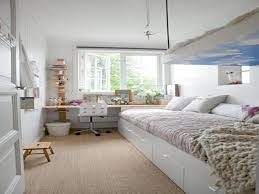 Narrow Bedroom Small Space Architecture Decorating A Narrow Room Long Narrow