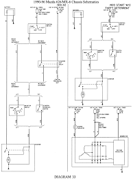 Mazda distributor wiring diagram with basic images