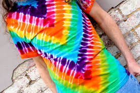 Tie Dye Patterns Beauteous Zig Zag Up And Dyed