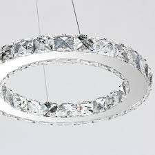 Mctech 32w Led Kristall Pendelleuchte Höhenverstellbar