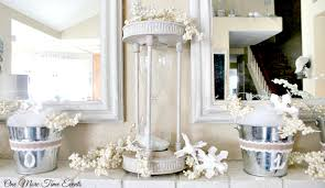 Winter Home Decorating Idea For The Mantel|One More Time Events