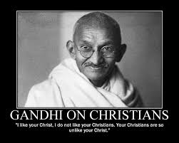 Gandhi Quotes Christian Best Of Gandhi On Christians Uploaded By HumanArt On We Heart It