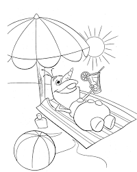 Small Picture Summer Coloring Pages Pdf Miakenasnet
