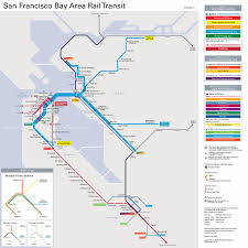 bay area transportation maps bart muni caltrain  more  davide pio