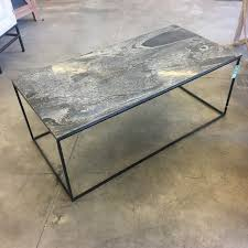 Slate top coffee table Oak Slate Top Coffee Table Altinfiyatlariclub Slate Top Coffee Table Nadeau Savannah