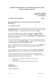 Awesome Collection Of Sample Covering Letter Visitor Visa
