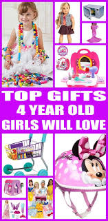 Find the best gifts for 4 year old girl! Kids would love a gift from this ultimate guide. toys and non toy perfect Best Gifts Year Old Girls Will Love | Gift Guides Christmas