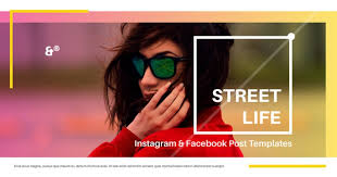 Street Life Free Social Media Template Free Design Resources