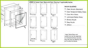 Fireplace Door Size Chart Cabinet Door Sizes Chart Kitchen Size Standard Uk See The