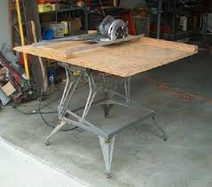 circular saw table mount. step 3: mount for a circular saw precise cutting accessory table r