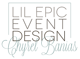 Panelist Announcement: Chyrel Banias of Lil Epic Event Design! | Event Pros  Unplugged