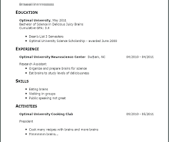 Doing A Resume With No Job Experience Best Of Example Of A Resume For A Job Fdlnews