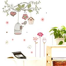 birdcage wall decals online get cheap birdcage wall decals group removable  tree birdcage wall decals bedroom . birdcage wall decals ...